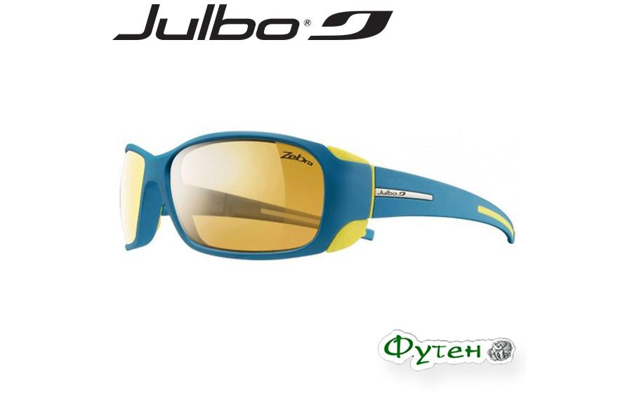 Очки фотохромные Julbo MONTEBIANCO Zebra mat blue/yellow