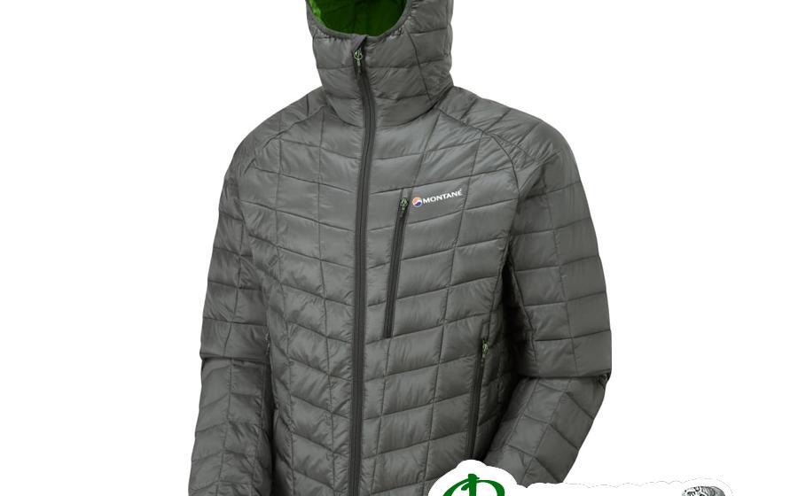 Куртка мужская Montane Primaloft Hi-Q LUXE JACKET shadow