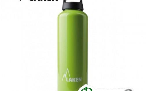 Фляга алюминиевая Laken CLASSIC 0,75 L apple green