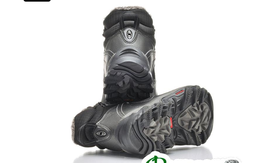Salomon SOKUYI WP black ботинки