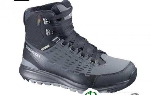 Ботинки мужские Salomon KAIPO MID CS WP black/autobahn