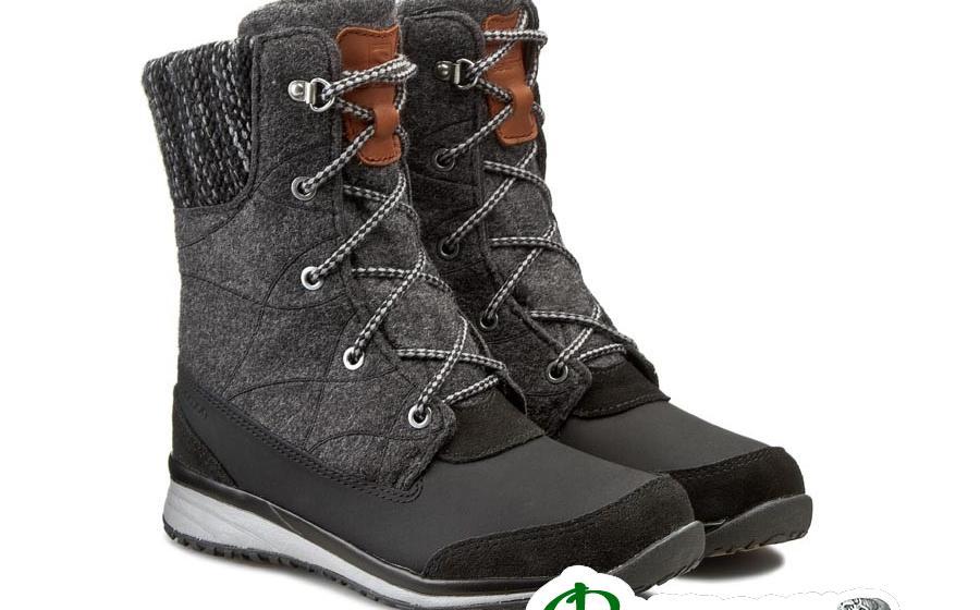 Ботинки женские Salomon HIME MID black/asphalt/pewter