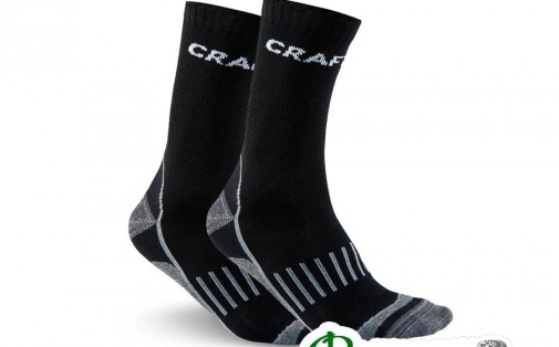 Термоноски Craft WARM TRAINING 2-Pack SOCK black