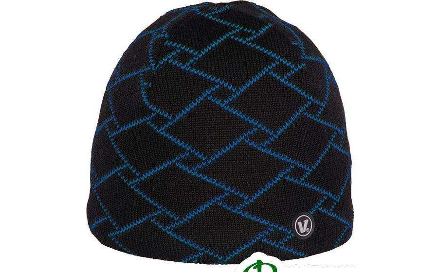 Шапка Viking REGULAR черно-синяя