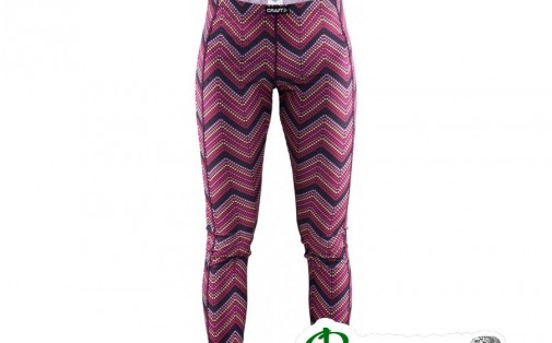 Термоштаны Craft MIX AND MATCH PANTS WOMAN p zigzag space