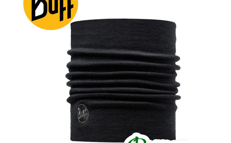 Бафф повязка зимняя Buff MERINO WOOL THERMAL NECKWARMER BLACK