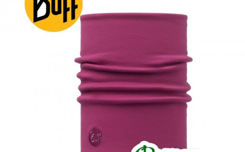 Бафф утеплённый Buff MERINO WOOL THERMAL SOLID PINK CERISE