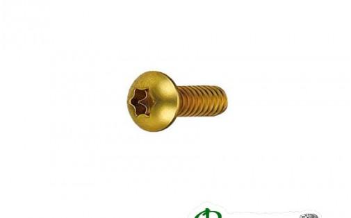 Болты для роторов Bengal М5 х Р0.8 х 10 12 шт золотые