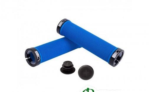 Грипсы велосипедные Green Cycle GC-G211 130 мм синие