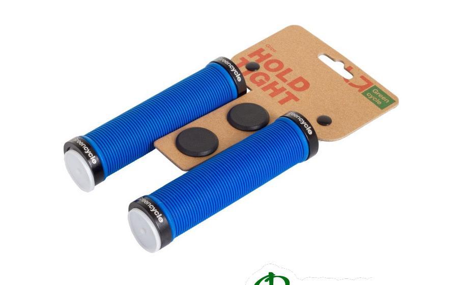 Грипсы Green Cycle GC-G211 130 мм синие