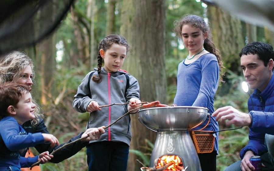 Печка Biolite