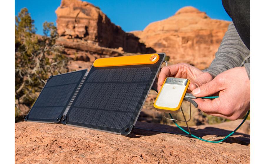 Biolite SolarPanel 10+ в работе