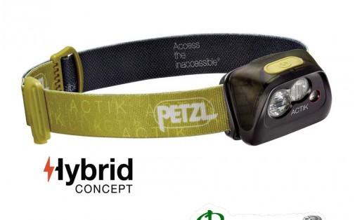 Фонарь налобный Petzl ACTIK green