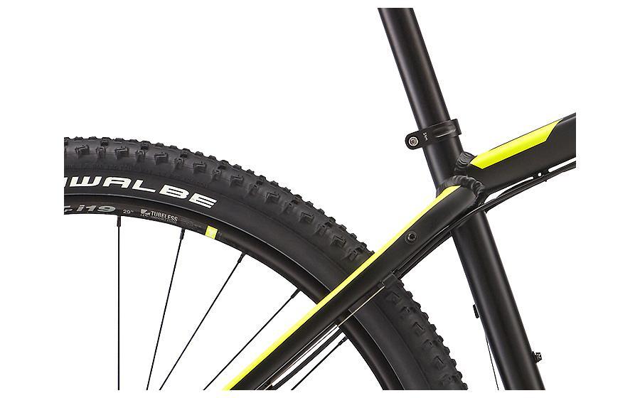 Велосипед мужской FELT NINE 50 вид сзади