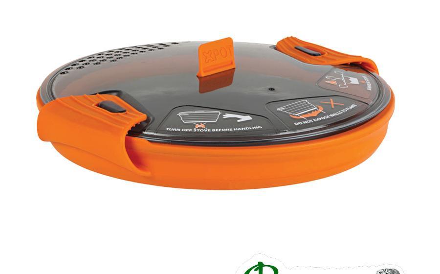 Кастрюля с крышкой Sea to Summit X-POT orange 1.4 л
