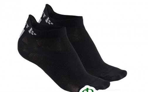 Носки unisex Craft COOL SHAFTLESS 2-PACK Sock (укороч.)  black