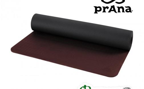 Коврик для йоги prAna E.C.O. LARGE YOGA Mat Raisin