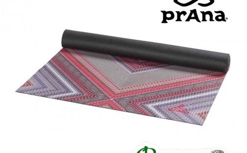 Коврик для йоги prAna TRANSFORMATION Mat Cosmo Pink