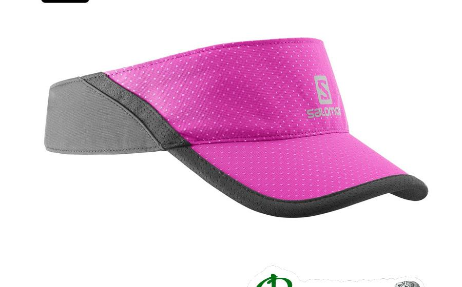 Кепка козырек Salomon XA VISOR rose violet/black