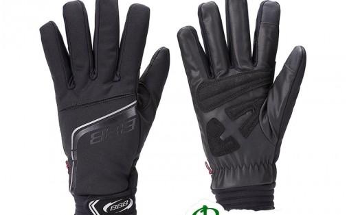 Велоперчатки зимние BBB BWG-22 COLDSHIELD black