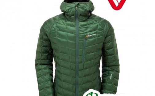 Куртка мужская зимняя Montane Hi-Q LUXE JACKET arbor green