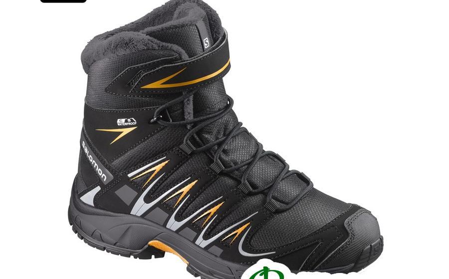 Ботинки детские Salomon S XA PRO 3D WINTER TS CSWP J bk/indi