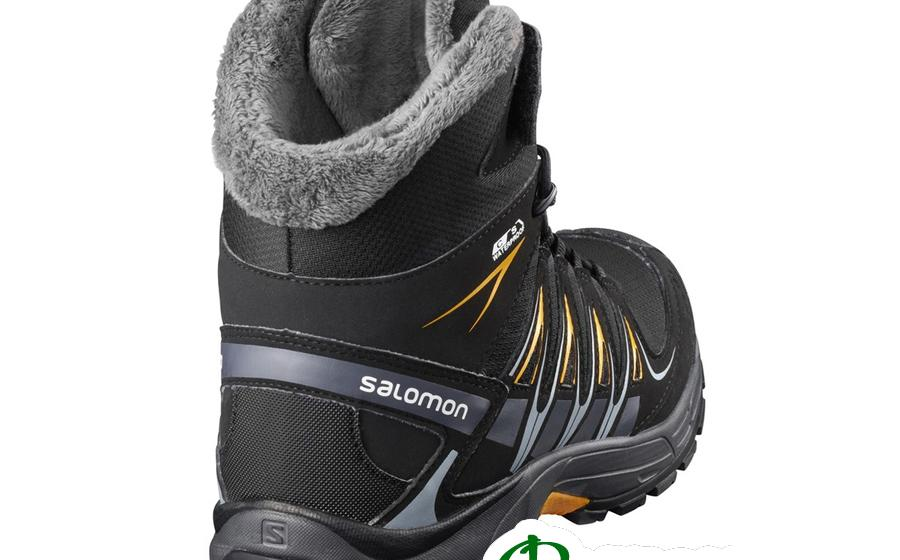 Salomon S XA PRO 3D WINTER TS CSWP J bk/indi задник