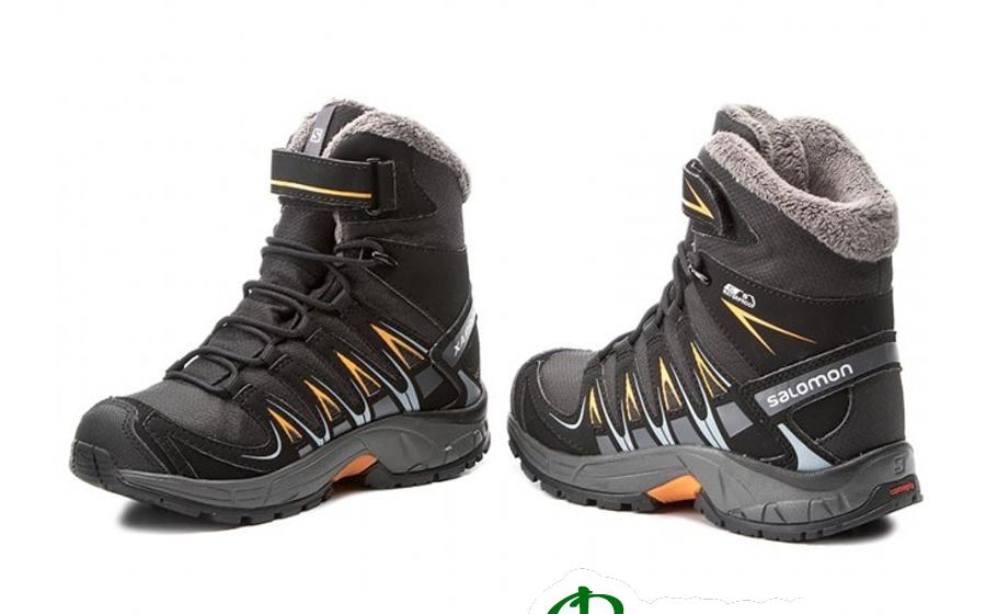 Salomon S XA PRO 3D WINTER TS CSWP J bk/indi Ботинки