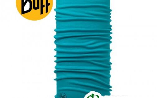 Бафф повязка Buff MIDWEIGHT MERINO WOOL SOLID turquoise