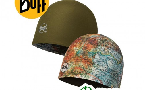 Шапка Buff MICROFIBER REVERSIBLE HAT itinerary multi