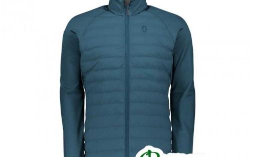 Куртка мужская SCOTT INSULOFT HYBRID DOWNCEL Jacket синяя