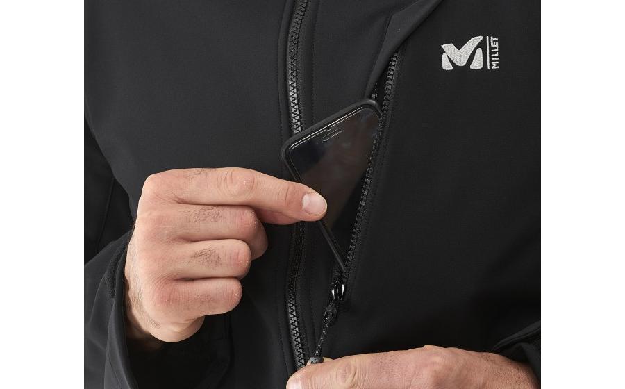 Карман Millet Softshell TRACK JKT black