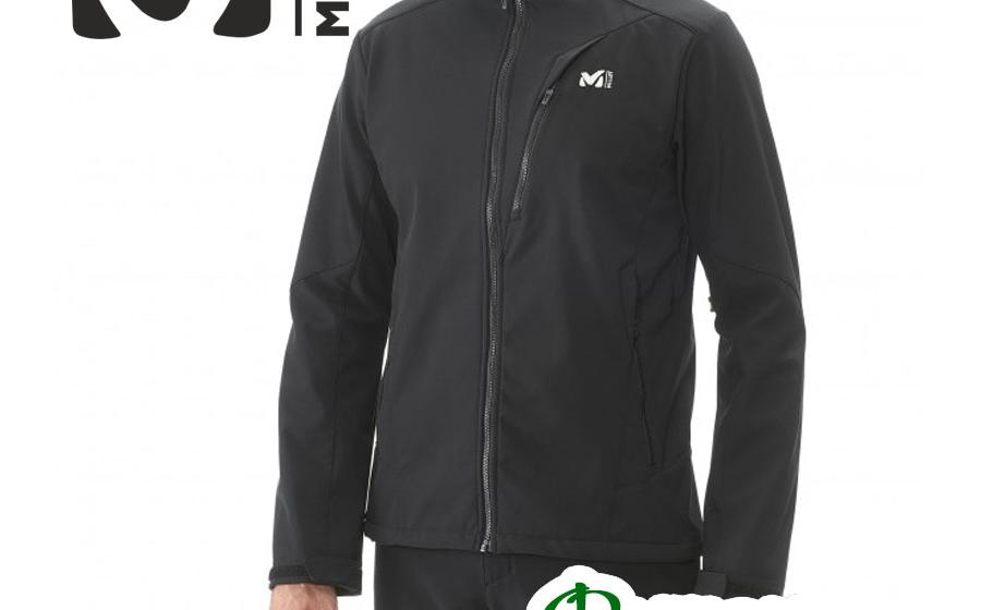 Куртка Millet Softshell TRACK JKT black