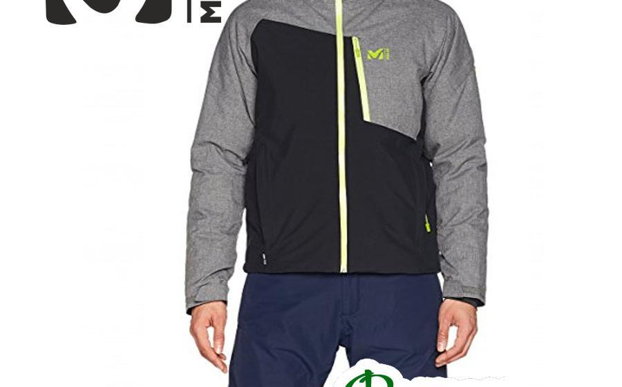 Лыжная куртка Millet CYPRESS MOUNTAIN II black/heather grey