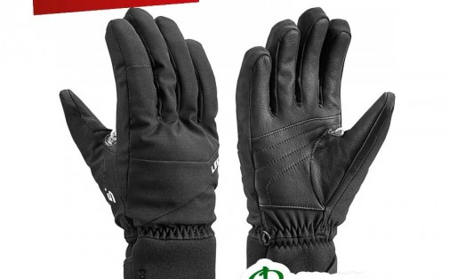 Перчатки зимние Leki SHAPE FLEX S GTX black