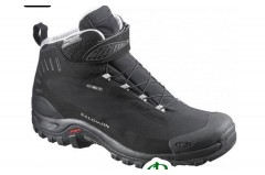 Ботинки зимние женские Salomon DEEMAX 3 TS WP W black/black/aluminium