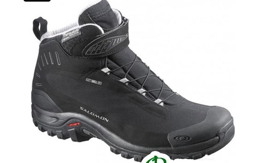 Ботинки зимние женские Salomon DEEMAX 3 TS WP W black/black/alum