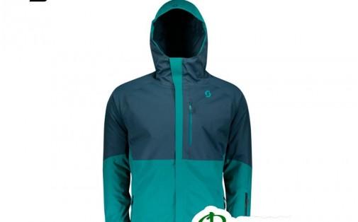 Куртка SCOTT ULTIMATE DRYO 10 синий/зелёный