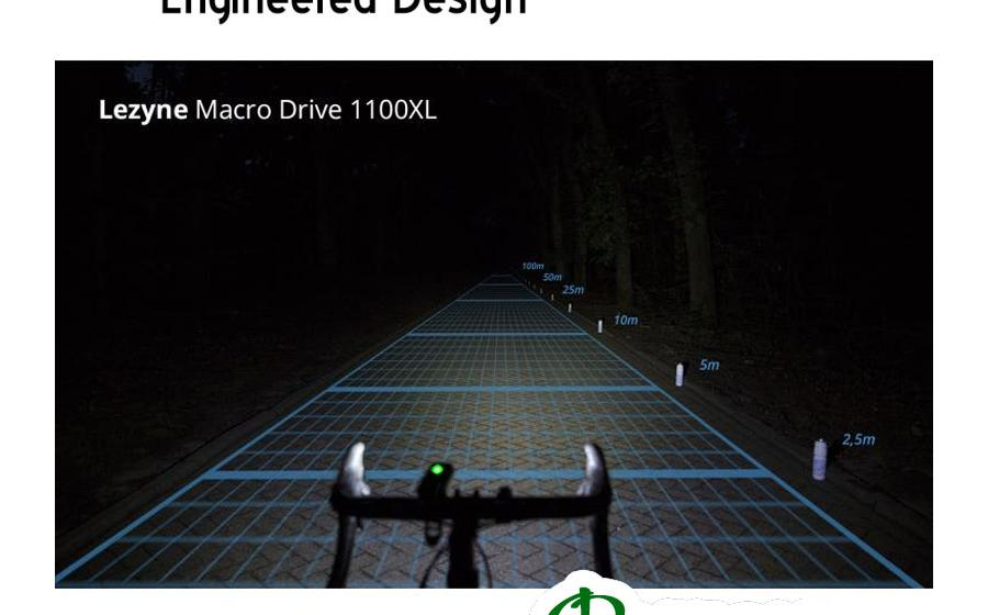 Фонарь Lezyne MACRO DRIVE 1100 XL свет