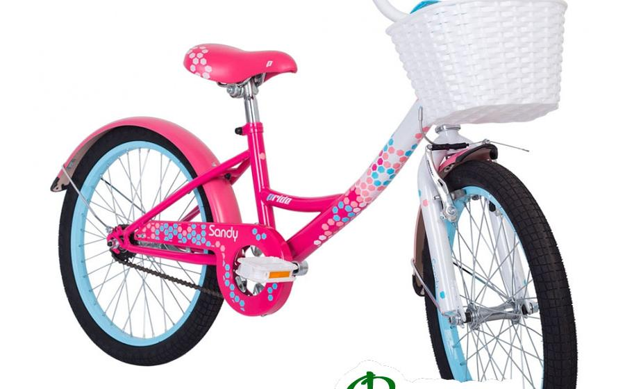 Велосипед детский PRIDE SANDY вид спереди