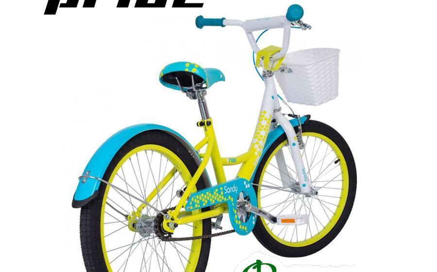 Велосипед детский PRIDE SANDY сзади