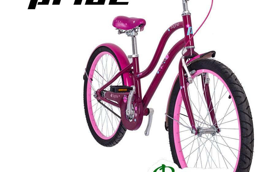 """Велосипед подростковый PRIDE 24"""" SOPHIE вид спереди"""