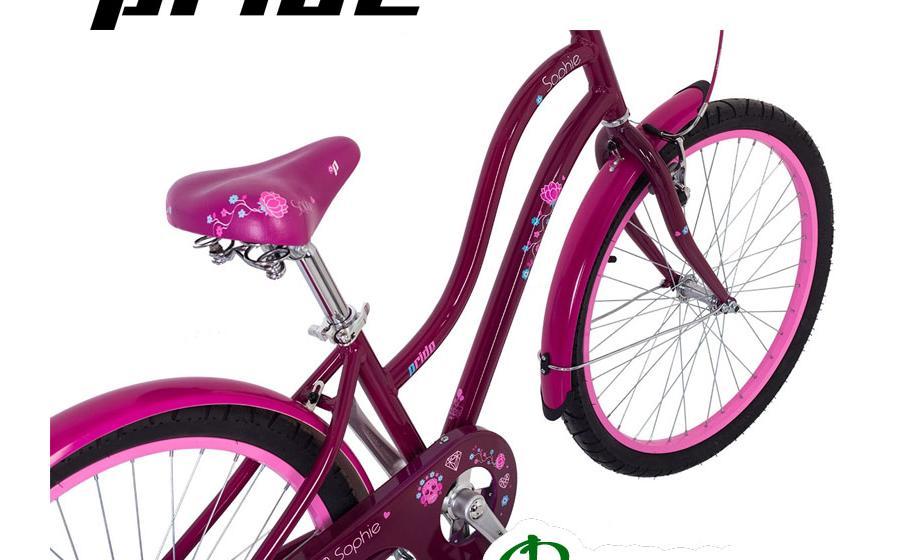 """Велосипед подростковый PRIDE 24"""" SOPHIE вид сверху"""