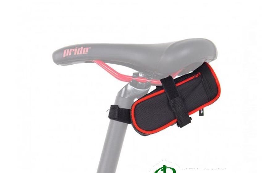 Сумка подседельная Green Cycle MINI черно-красная