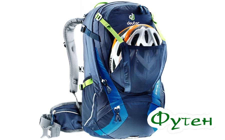 Велорюкзак Deuter TRANS ALPINE 24 для шлема