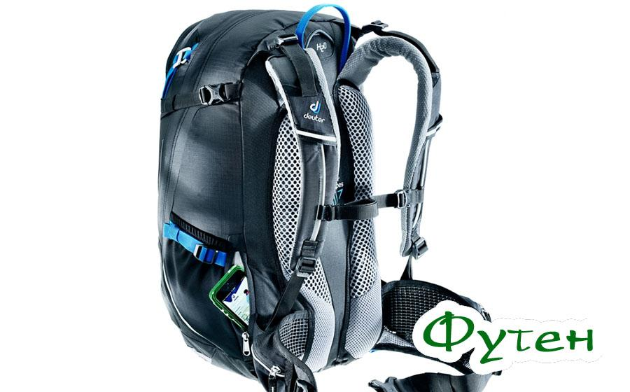 Спина Deuter TRANS ALPINE 24 bay-midnight