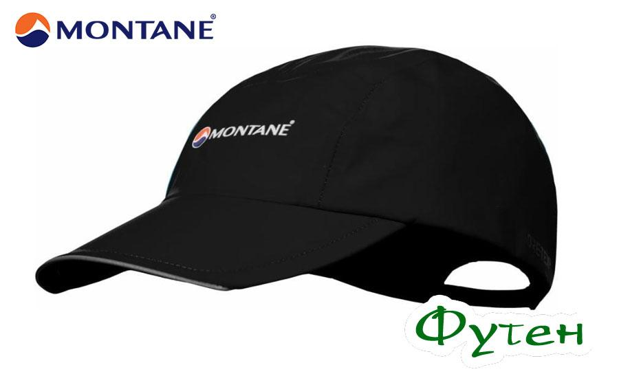Кепка с GORE-TEX Montane SPINE CAP black ONE SIZE