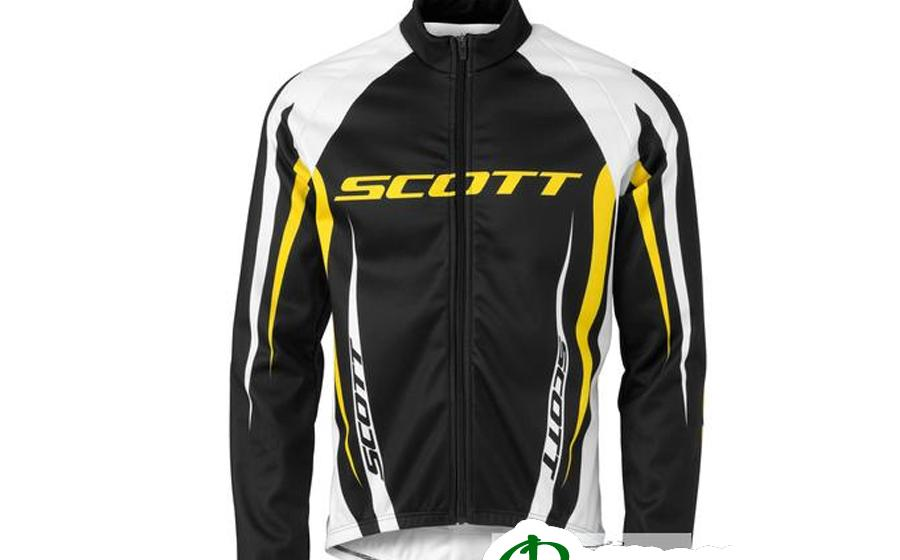 Веловетровка SCOTT AUTHENTIC желтая XL