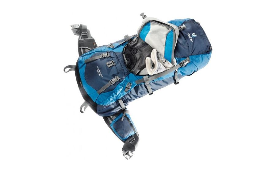 Deuter AIRCONTACT 65+10 доступ в рюкзак
