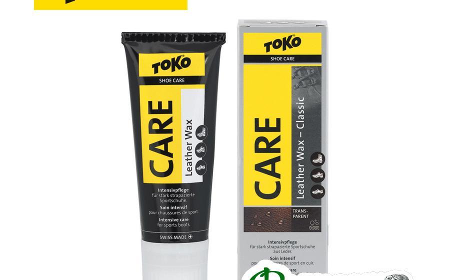 Крем для обуви TOKO Leather Wax Transparent-Silicone 75 мл